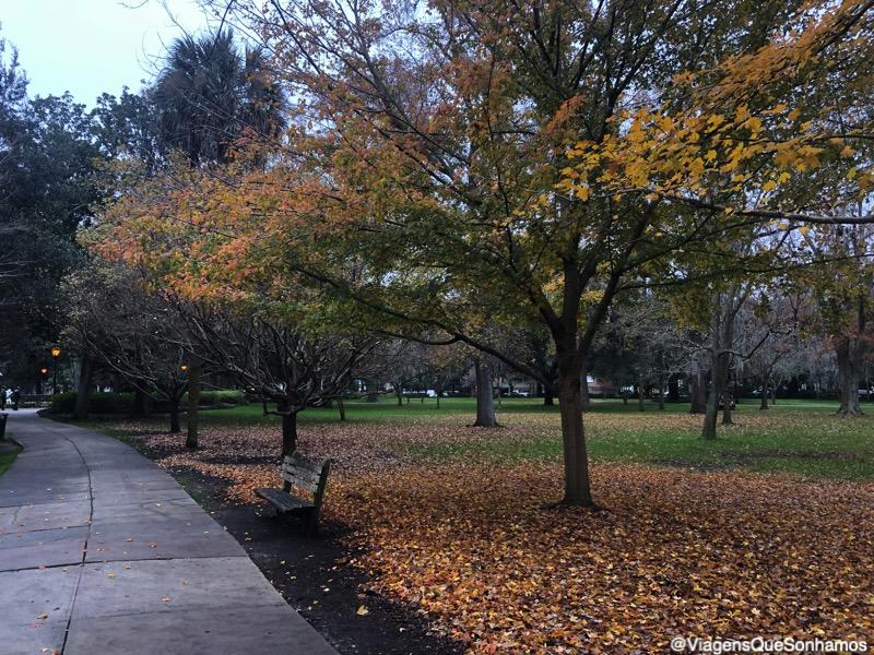Parques em Savannah