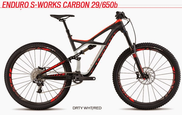 2015 Enduro S-Works Carbon 29/650b