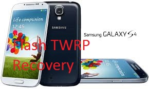 How to flash TWRP recovery via ODIN in Samsung Galaxy S4 Main Picture