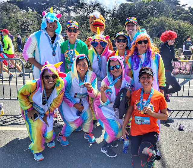 Finisher's pic - Bay to Breakers