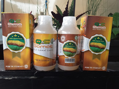 Obat Scabies Herbal QnC Jelly Gamat