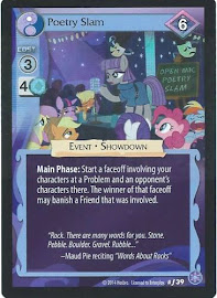 MLP Poetry Slam The Crystal Games CCG Card
