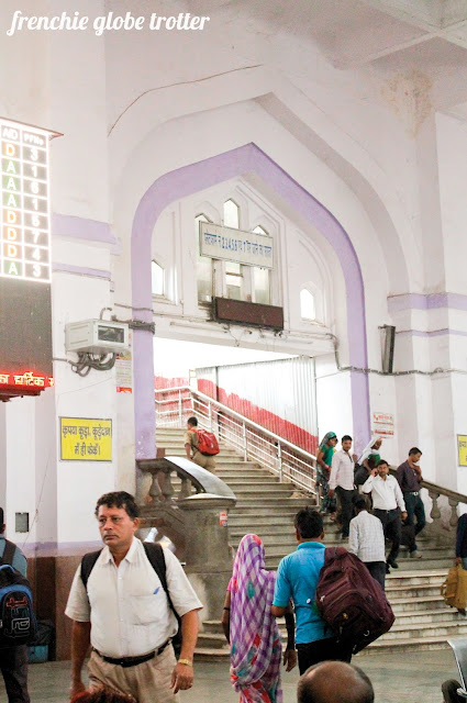 Lucknow's Railway Station, Uttar Pradesh, India
