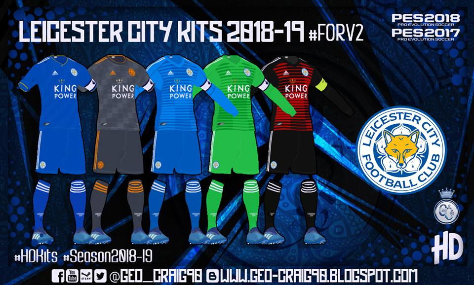 PES 2018 Kitpack v6 HD Season 2018/2019 by Geo_Craig90 — PES Club