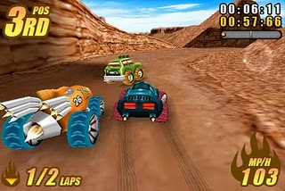 burning-tires-3D Burning Tires™ 3D da Fishlabs chega ao Symbian