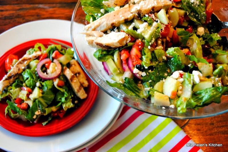 Greek Chicken Salad at Miz Helen's Country Cottage