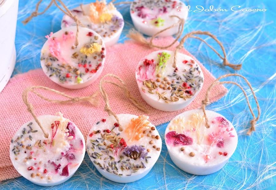 Detalles de boda barritas aromaticas florales