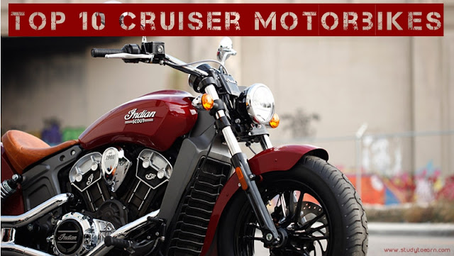 top 10 cruiser motorbikes