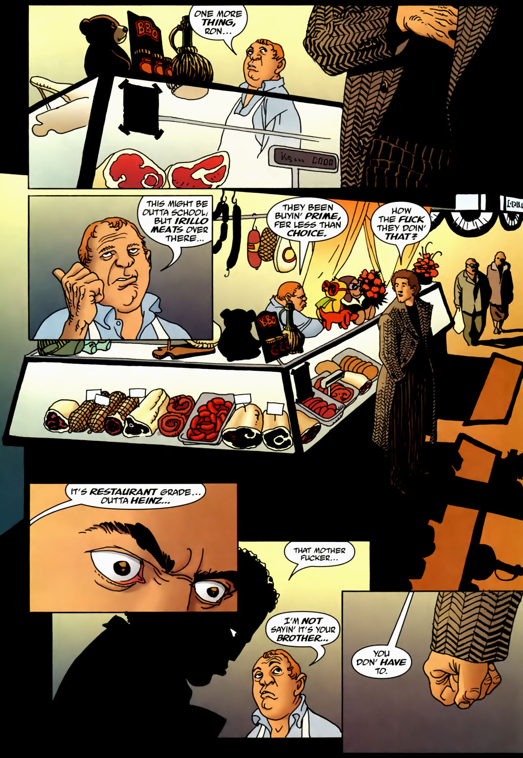 Read online 100 Bullets comic -  Issue #70 - 7