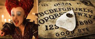 Helena Bonham Carter usa la tabla #Ouija invocando espíritus que inspiren su papel en serie The Crown #Katecon2006
