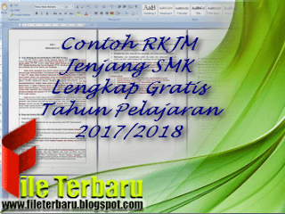 Contoh RKJM Jenjang SMK Lengkap Gratis Tahun Pelajaran 2017/2018