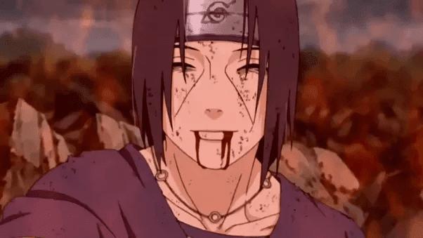 itachi kalah dengan sasuke
