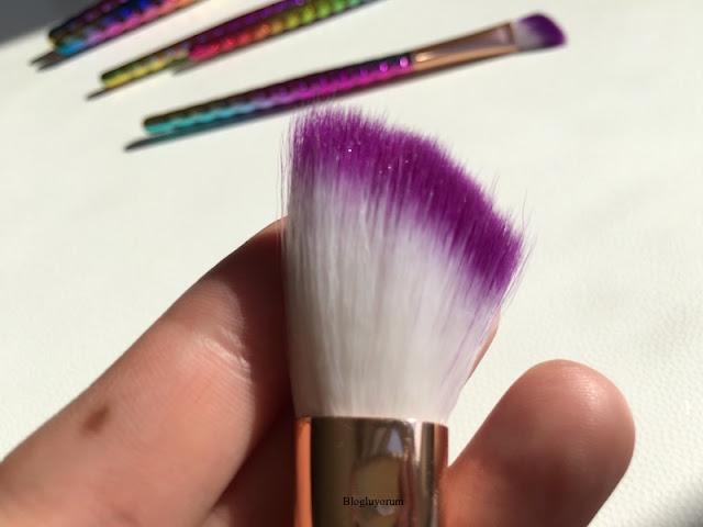 to save alışverişi unicorn makyaj fırça seti 12
