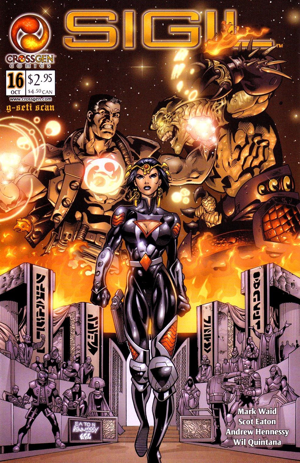 Read online Sigil (2000) comic -  Issue #16 - 1