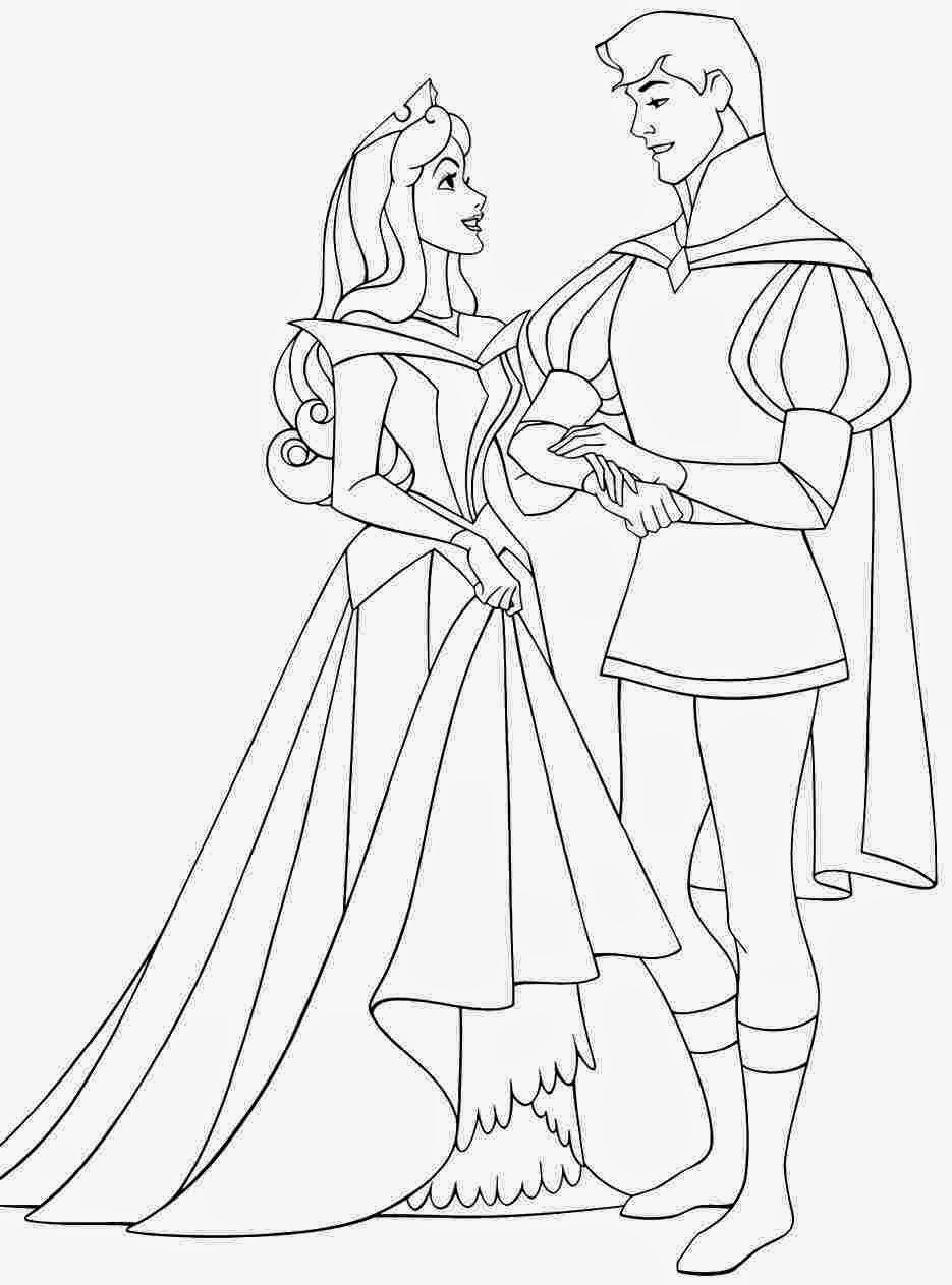 Coloring Pages: Princess Aurora free printable coloring pages | free printable princess aurora coloring pages