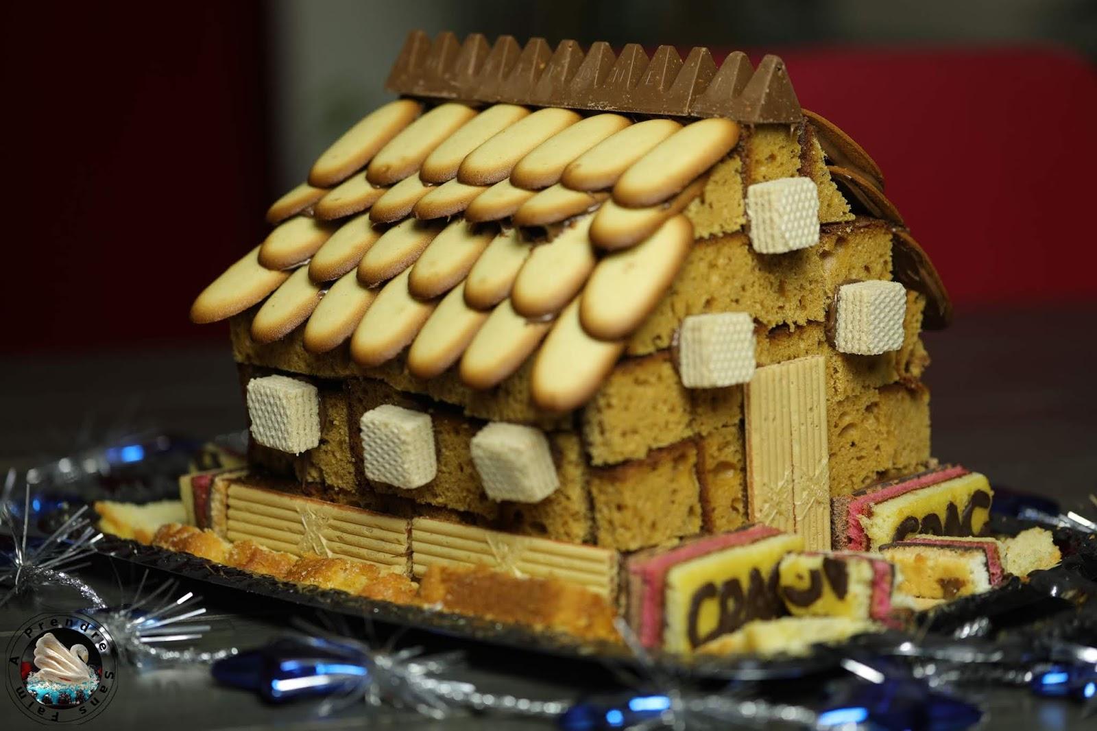 Maison en pain d'épices facile (pas à pas en photos)