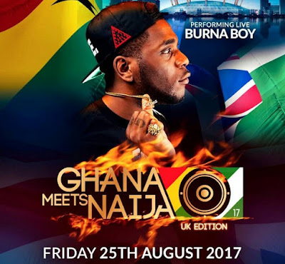 SHOCKING! No Burna Boy At Ghana Meet Najia - UK Edition Tonight But Show Goes On