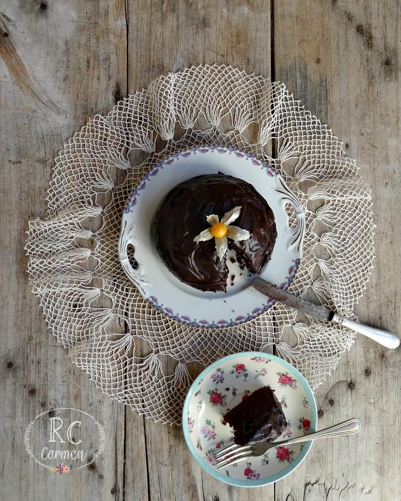 Bizcocho De Chocolate Y Mandarina
