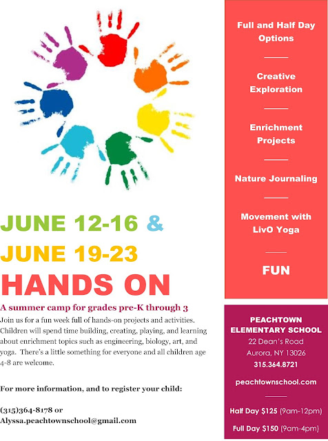 Peachtown Elementary School Summer Camp June 2017