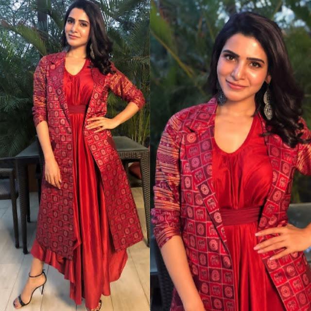 Samantha Prabhu In Pinnacle by Shruti Sancheti