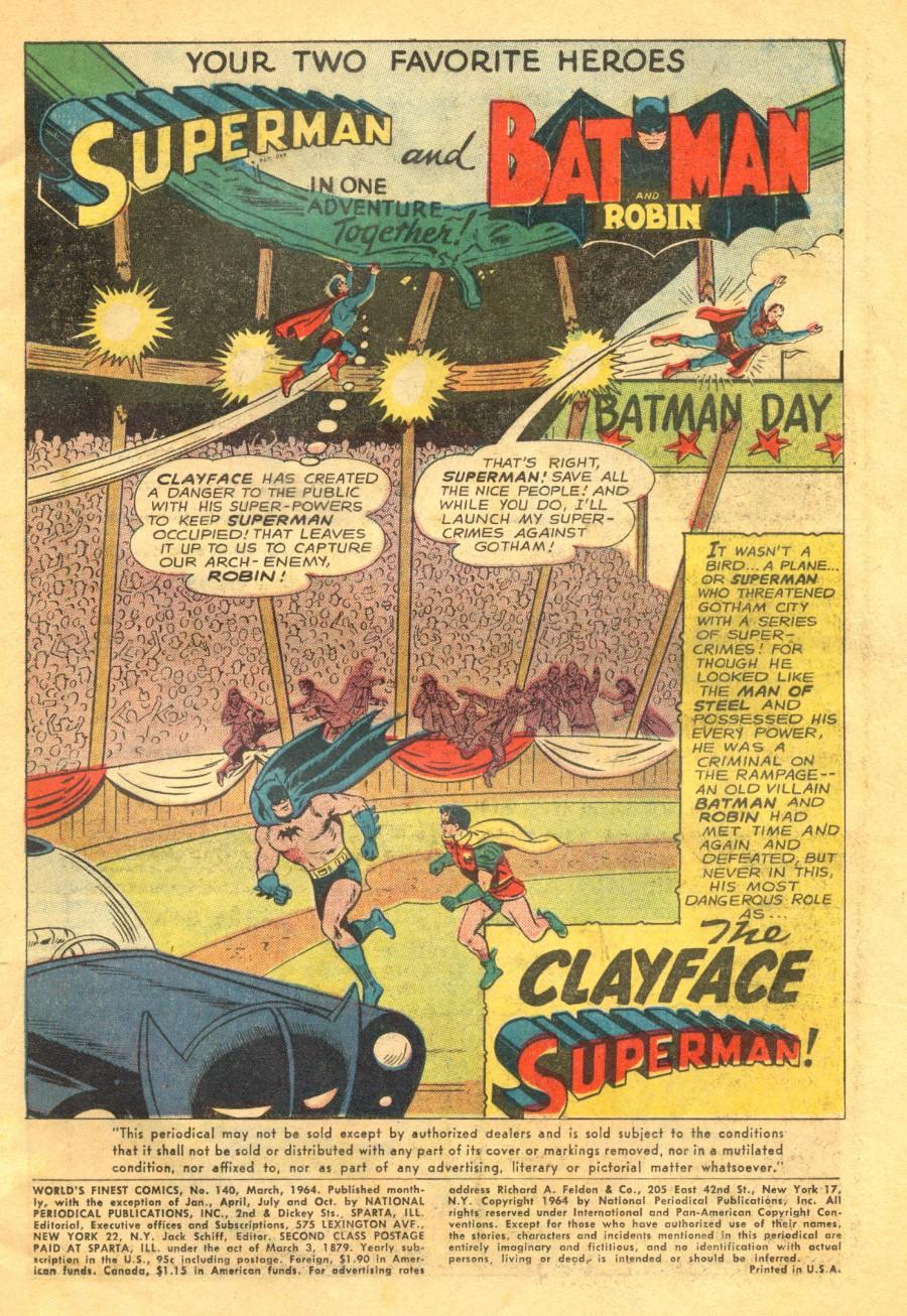 Read online World's Finest Comics comic -  Issue #140 - 3