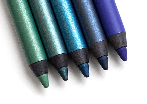 Make Up For Ever Aqua XL Eye Pencils M-22 S-20 I-24 I-32 I-34 Review Photos