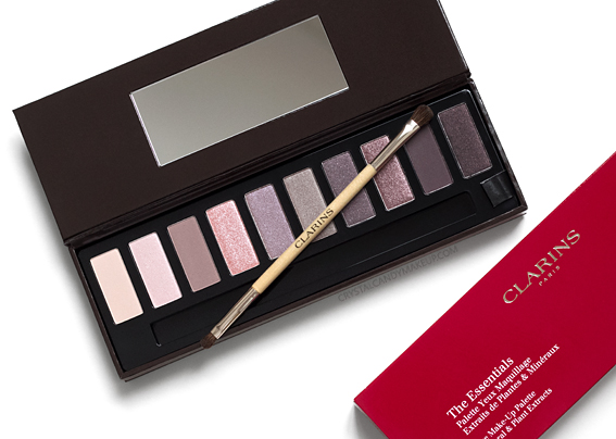 Clarins The Essentials Eye Make-Up Palette Holiday 2016 Review Photos Swatches