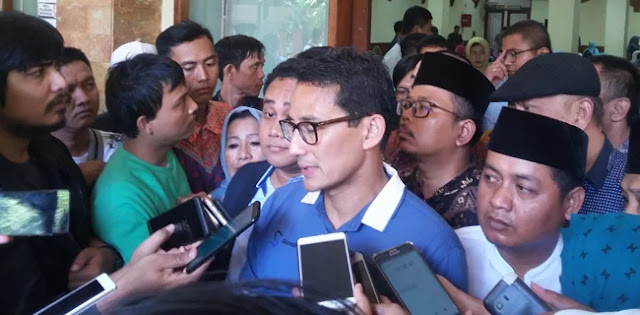 Ingin Bertemu Ridwan Kamil, Sandiaga Minta Jangan Berbalas Di Media