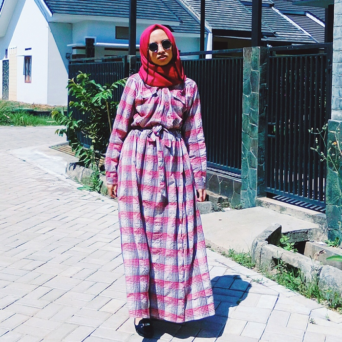Ootd Vintage Retro Vibes She Called It Fashion Hijab