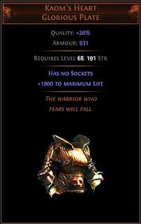 Kaom's Heart - Legacy 1000 Hp