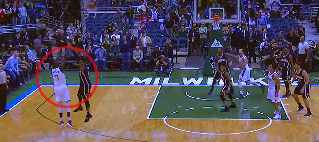 7-foot-1 Thon Maker's First NBA Basket Shows His Range! (VIDEO)