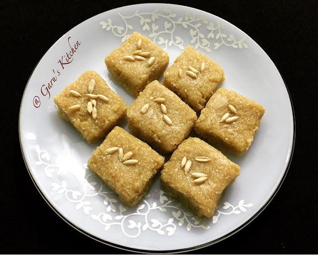 meeng burfi recipe | meeng khoya burfi recipe | meeng katli recipe | musk melon seeds burfi recipe