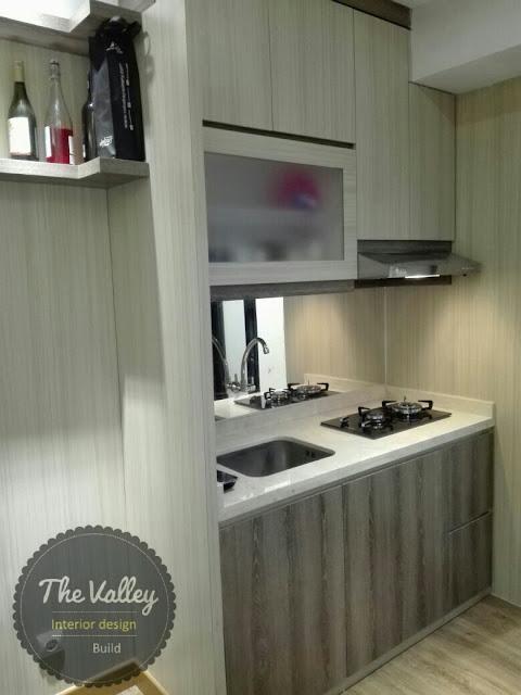Desain Interior Apartemen Minimalis 02 - The Valley Interior Design