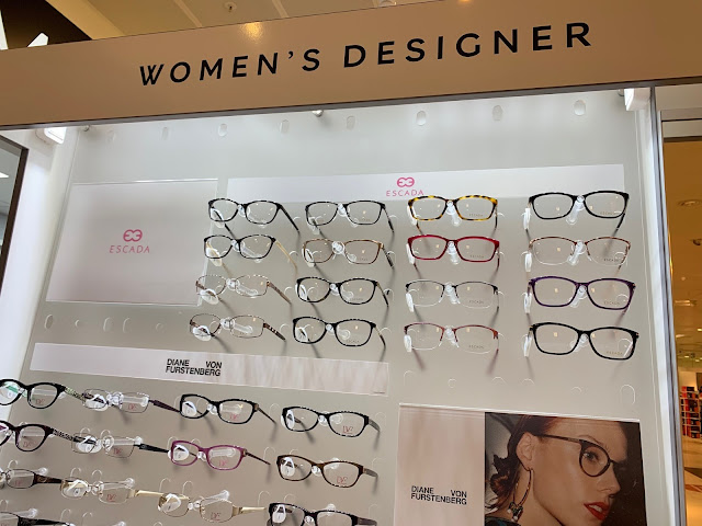 Marks and Spencer Glasses Display Designer Frames