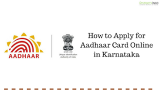 How to Apply for Aadhaar Card Online in Karnataka