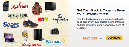 Cash Back Discounts and Coupons at Your Favorite Stores - Save Money