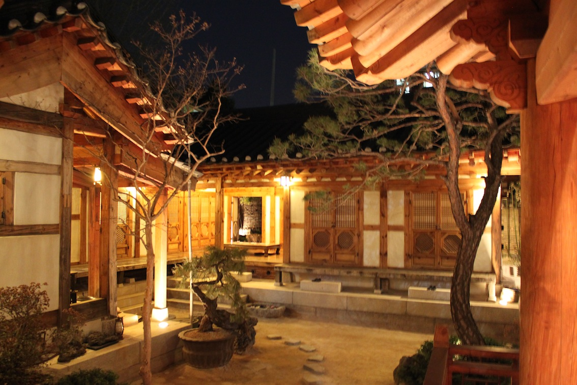 the world of lucas and kyungsil: korean architecture
