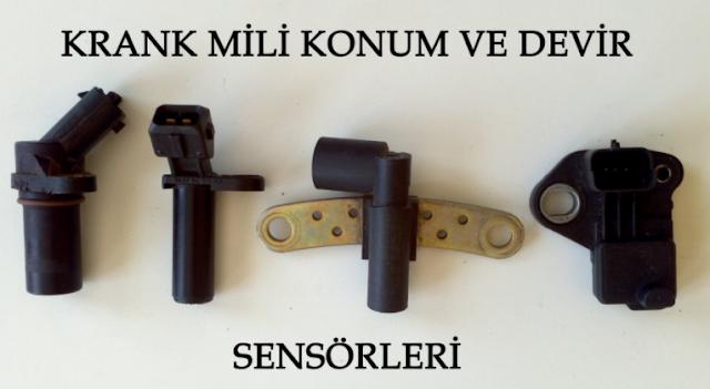 Krank Devir Sensörü