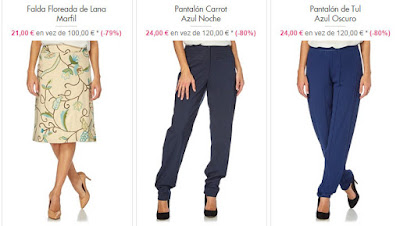 faldas pantalones