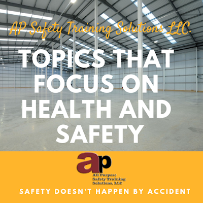 Health and Safety Topics