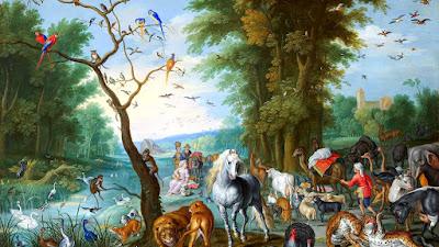 """Ян Брейгель """"Вход животных в Ноев ковчег"""""""