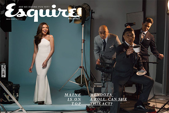 Maine Mendoza Esquire February 2016 Cover