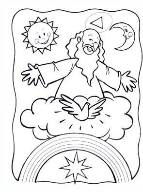 Dibujos Padre Nuestro  Compartiendo por amor