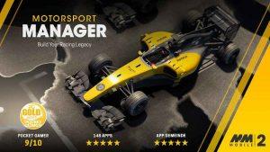 Motorsport Manager Mobile 2 Apk Mod v1.1.0 Full version