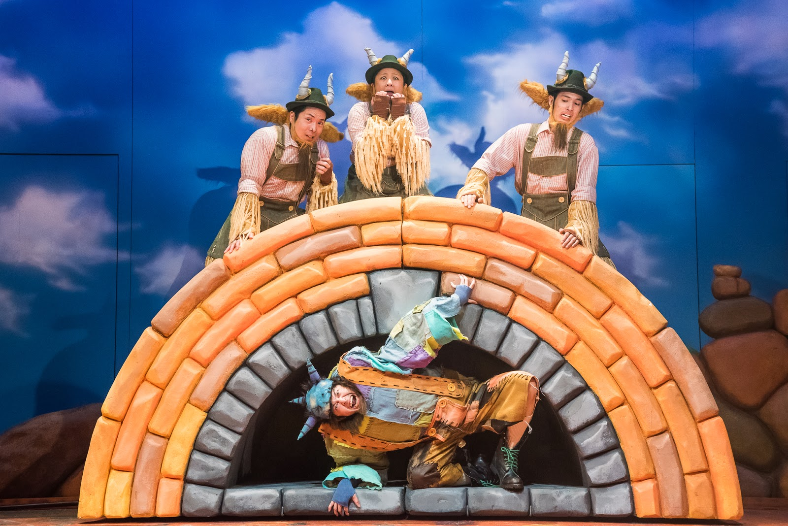 The Billy Goats Gruff Review A Rock N Troll Musical