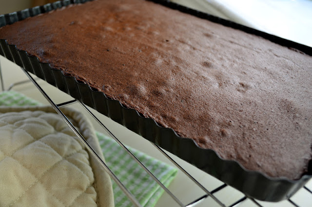 Cold Chocolate Snacking Cake recipe --- keep it in the fridge at all times! | theviewfromgreatisland.com