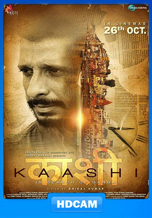Kaashi in Search of Ganga 2018 Hindi 720p HQ PreDVD x264 Poster