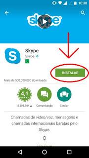 Como instalo e crio conta no Skype
