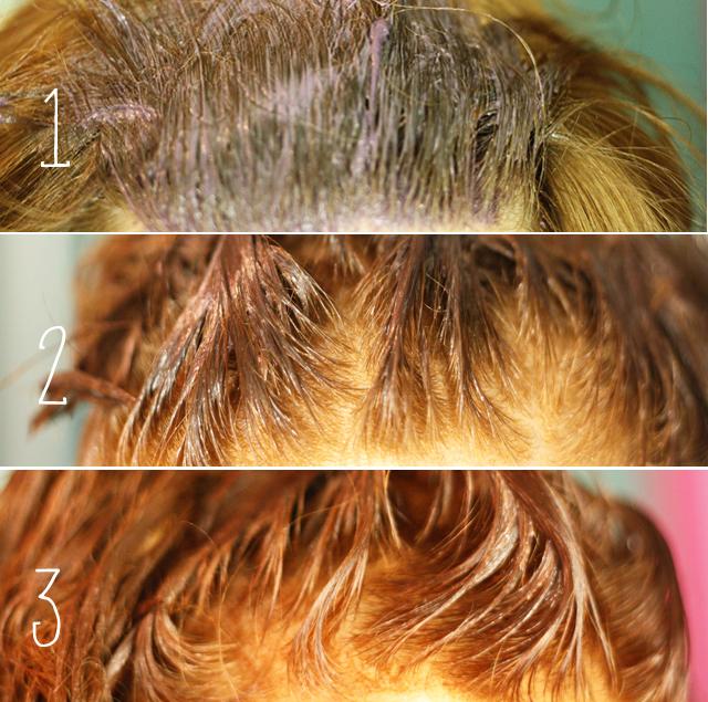 Couleur de cheveux qui vire au roux