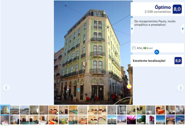 Pensão Londres em Lisboa